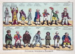 National Opinions on Bonaparte, 1808 Fine Art Print by American School