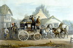 All Right, from 'Fores Coaching Recollections', engraved by J. Harris Wall Art & Canvas Prints by John Atkinson Grimshaw