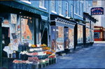 White Horse Tavern, Hudson Street, West Village, 2000 Poster Art Print by Thomas Bowles