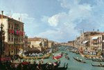 Regatta on the Grand Canal (oil on canvas)