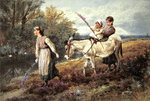 The Ride Home Wall Art & Canvas Prints by Francois Boucher