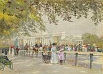 Hyde Park: Waiting for Royalty Poster Art Print by Peter Miller