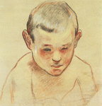Head of a Boy, c.1886-88 Fine Art Print by Roger Eliot Fry