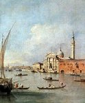S. Giorgio Maggiore, seen from the Giudecca Fine Art Print by William James