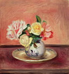 Vase of Flowers Wall Art & Canvas Prints by Claude Monet