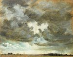 A Cloud Study Fine Art Print by John Constable