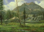 Sierra Nevada Mountains Fine Art Print by William Keith