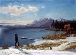 Lake Tahoe Fine Art Print by Thomas Moran