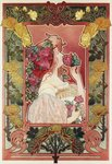 The Scent of a Rose, c.1890 Wall Art & Canvas Prints by Gustav Klimt
