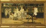 Bacchanal, 1871 Wall Art & Canvas Prints by Sir Lawrence Alma-Tadema