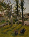 The Turkeys Fine Art Print by Paul Gauguin