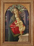 The Madonna and Child in a Niche Decorated with Roses Postcards, Greetings Cards, Art Prints, Canvas, Framed Pictures & Wall Art by Sandro Botticelli