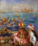 The Bathers, 1892 Wall Art & Canvas Prints by Pierre-Auguste Renoir