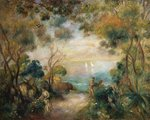 A Garden in Sorrento Fine Art Print by Pierre-Auguste Renoir