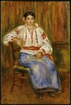 Young Romanian, 1914 Fine Art Print by Pierre-Auguste Renoir