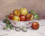 Still Life with a Pomegranate Fine Art Print by Pierre-Auguste Renoir