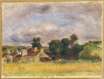 Brittany Countryside, c.1892 Fine Art Print by Claude Monet