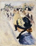 Place Clichy, c.1880 Wall Art & Canvas Prints by Pierre Auguste Renoir