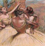 Three Dancers, c.1899 Postcards, Greetings Cards, Art Prints, Canvas, Framed Pictures, T-shirts & Wall Art by Edgar Degas