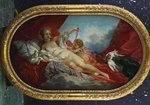 Venus and Cupid Fine Art Print by Francois Boucher