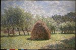 Haystacks at Giverny, 1893 Fine Art Print by Claude Monet