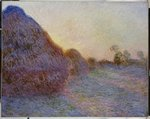 Haystacks Fine Art Print by Claude Monet
