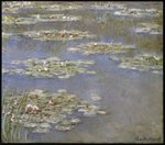 Nympheas, c.1905 Wall Art & Canvas Prints by Claude Monet