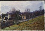 Autumn in Louveciennes, 1873 Fine Art Print by Claude Monet