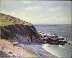 Lady's Cove, Langland Bay, 1897 Wall Art & Canvas Prints by Georges Lemmen