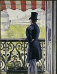 Man on a Balcony, Boulevard Haussmann, 1880 Fine Art Print by Edouard Manet