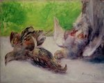Still Life with Pheasants Fine Art Print by Claude Monet