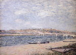 The River Banks at Saint-Mammes Poster Art Print by John Constable
