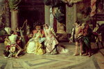 Galileo at the Court of Isabella, 1878 Fine Art Print by Albert Gustaf Aristides Edelfelt