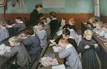 The Children's Class, 1889 Wall Art & Canvas Prints by Kenneth John Petts