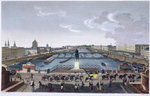 The Pont Neuf. c.1815-20 Wall Art & Canvas Prints by Franco-Flemish School