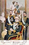 Five Generations of Swedish monarchs, 1904 Postcards, Greetings Cards, Art Prints, Canvas, Framed Pictures & Wall Art by Herbert Warhurst
