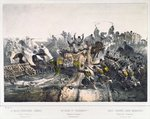 The Retreat of the French from Constantine on 24th November 1836 Fine Art Print by French School
