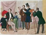'A Visit to the Photographer', 1857 Fine Art Print by William Henry Hunt