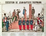 Execution of Jean-Baptiste Troppmann Fine Art Print by French School