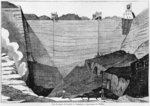 The coal mine at Commentry, illustration from 'Le Magasin Pittoresque', 1835 Fine Art Print by English School