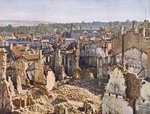 Ruins of Verdun after 8 months of bombardment, 1916/17 Fine Art Print by Kelly Hoppen