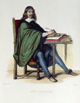Rene Descartes Fine Art Print by Francisco de Zurbaran