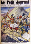 Yanitza, The Albanian Joan of Arc, from 'Le Petit Journal', 28th May 1911 Wall Art & Canvas Prints by Charles Monnet