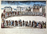 Procession in Paris of French prisoners released from captivity in Algeria by payment of ransom, 1785