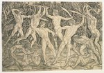 Battle of the Nudes, c.1489 Fine Art Print by Master of Marradi