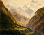 The Rockies, c.1870 Fine Art Print by Albert Bierstadt