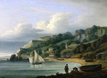 Babbacombe Beach, Devon, 1823 Fine Art Print by Armand de Polignac