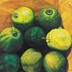 Limes, 2004 Wall Art & Canvas Prints by Julie Nicholls