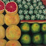 Halved Grapefruit, 1999 Fine Art Print by Pedro Diego Alvarado