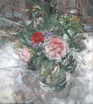 The Glass Jug from Rosemary Fine Art Print by Ignace Henri Jean Fantin-Latour